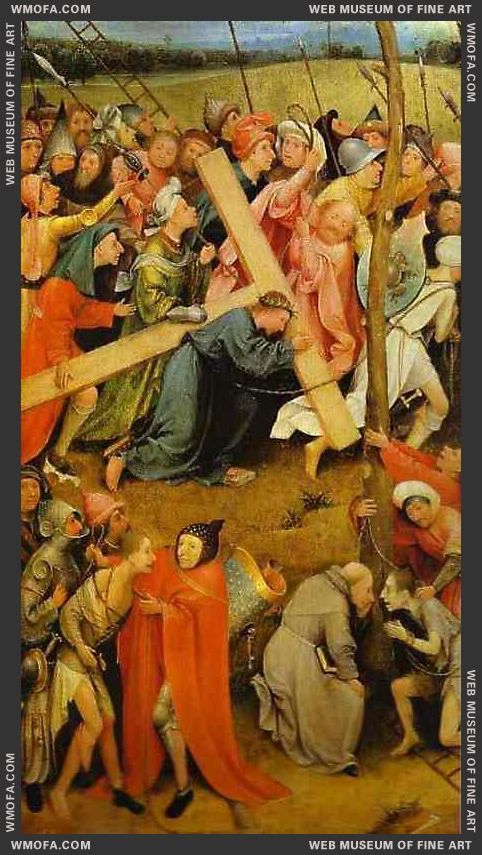 Christ Carrying the Cross 1485-1490 by Bosch, Hieronymus