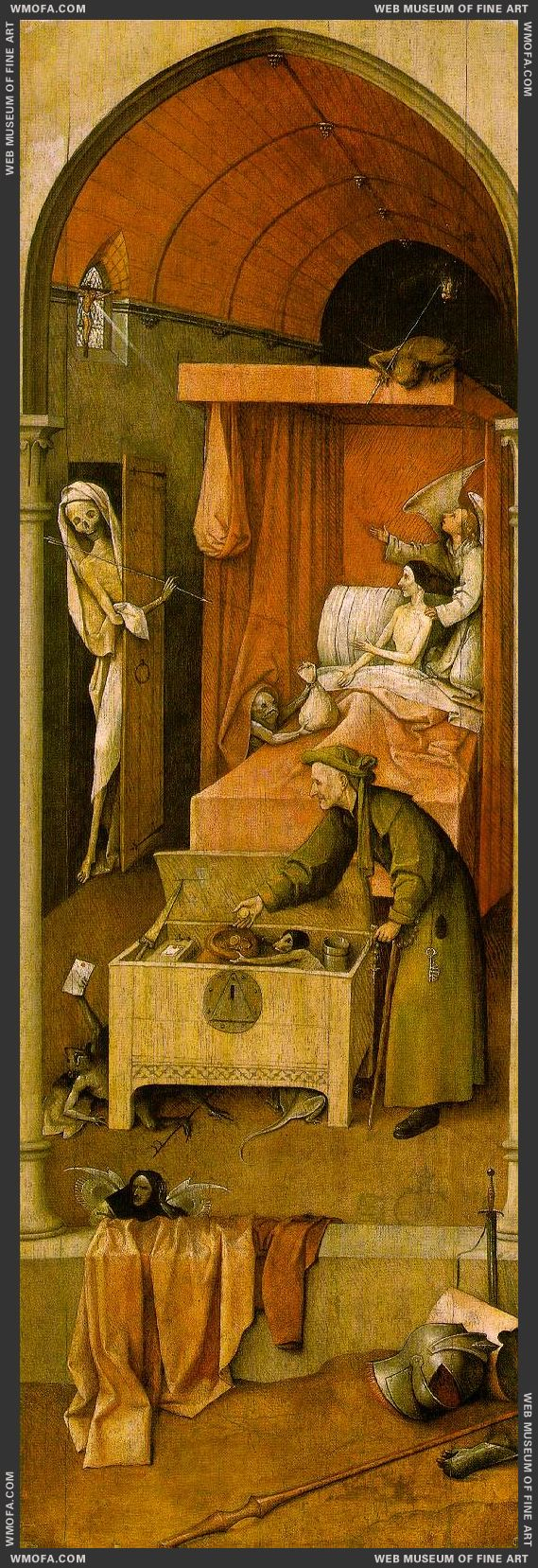 Death and the Miser c1490 by Bosch, Hieronymus