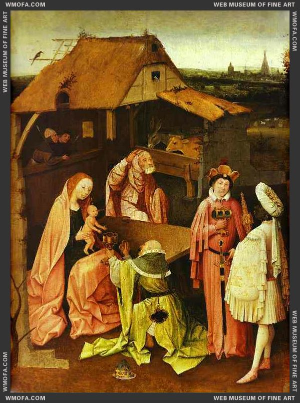 Epiphany 1480-1490 by Bosch, Hieronymus
