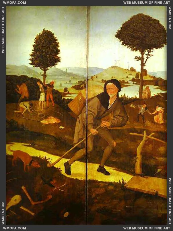 The Wayfarer 1500-1502 by Bosch, Hieronymus