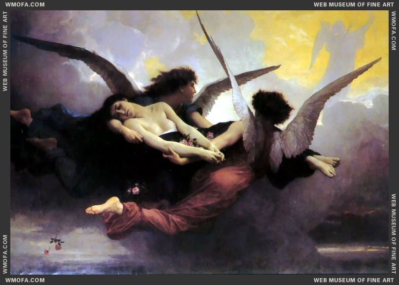 A Soul in Heaven 1878 by Bouguereau, William