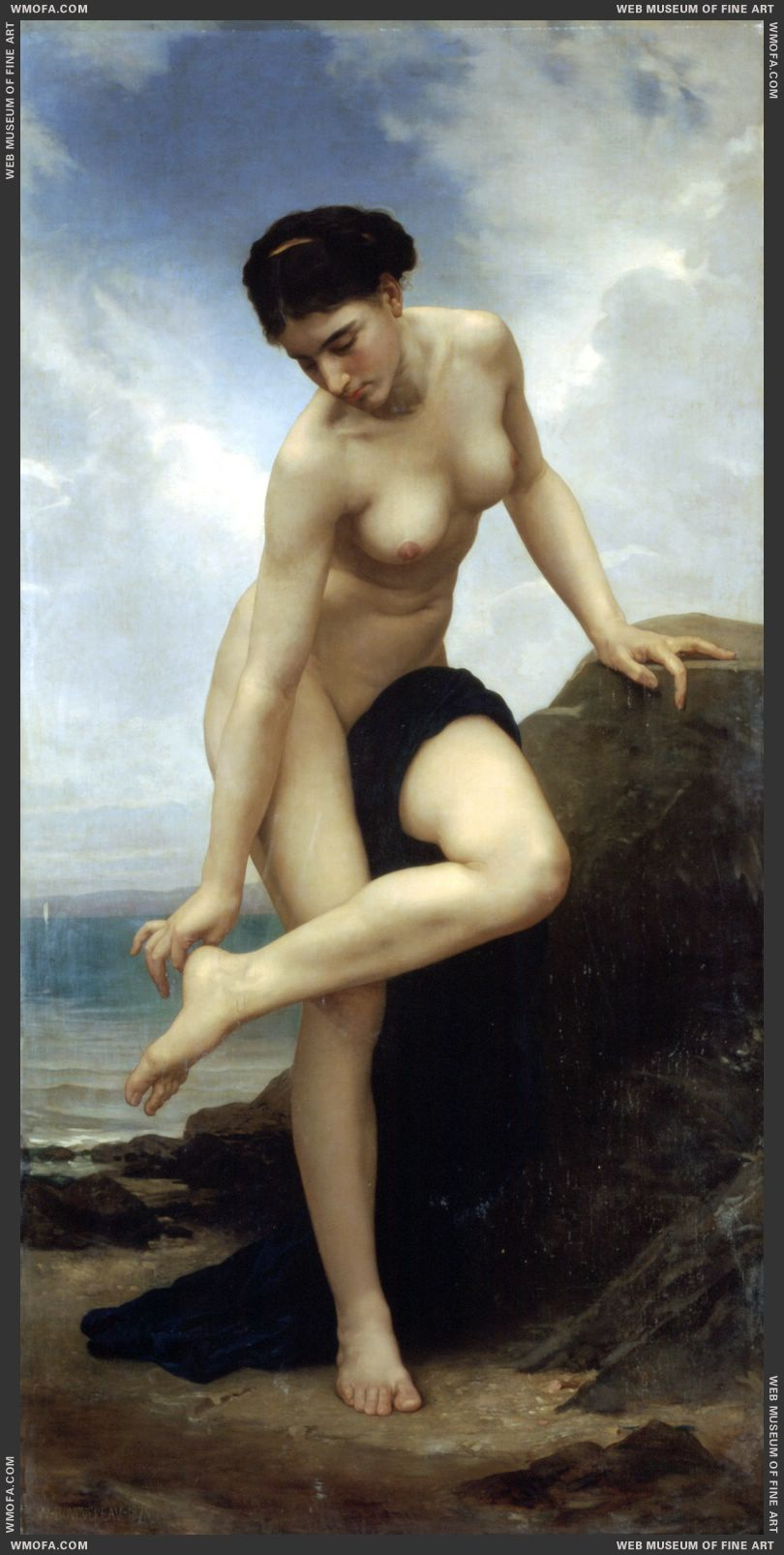 Apres le Bain - After the Bath 1875 by Bouguereau, William