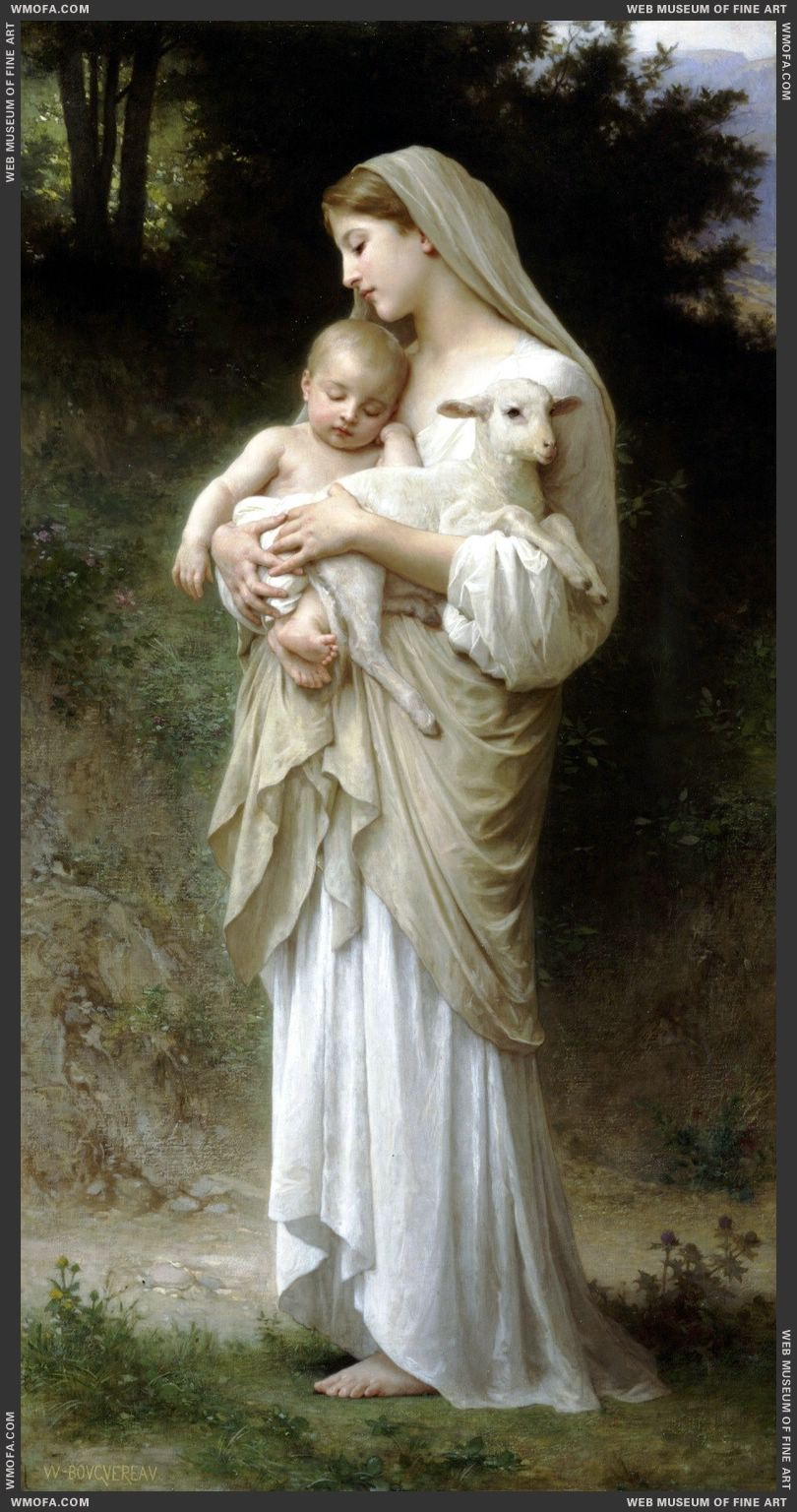 Innocence 1893 by Bouguereau, William