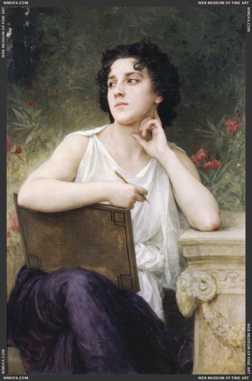 Inspiration 1898 by Bouguereau, William