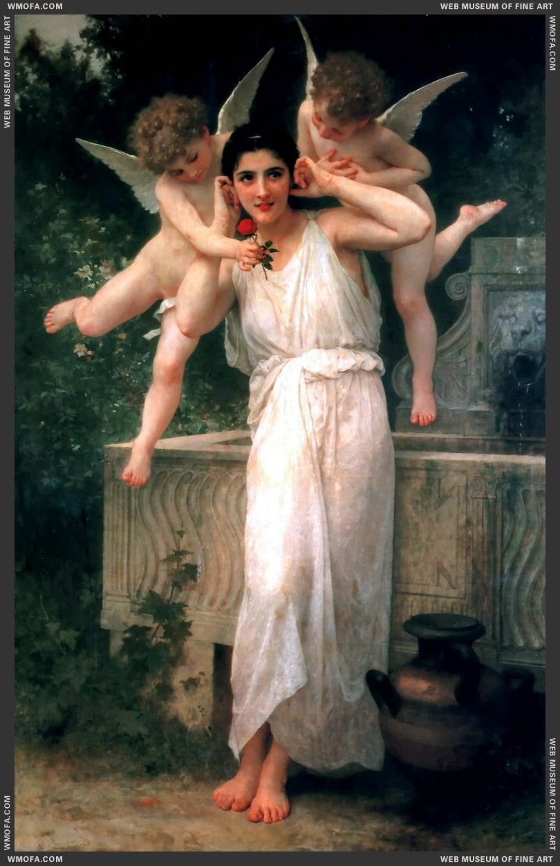 Jeunesse - Youth 1893 by Bouguereau, William