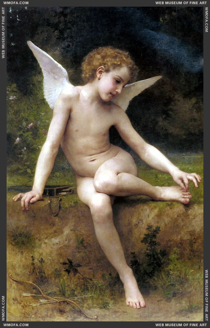 LAmour A LEpine 1894 by Bouguereau, William