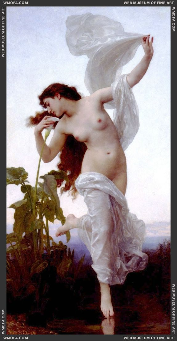 LAurore - Dawn 1881 by Bouguereau, William