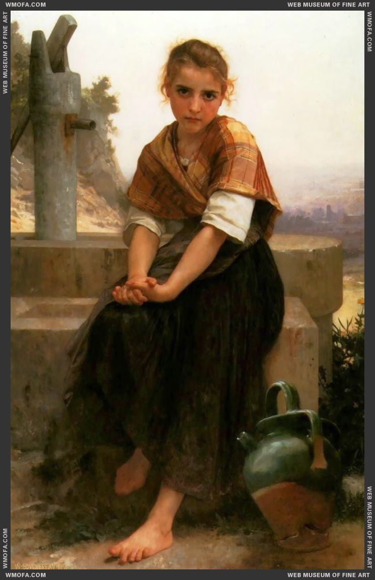 La Cruche Cassee - The Broken Pitcher 1891 by Bouguereau, William