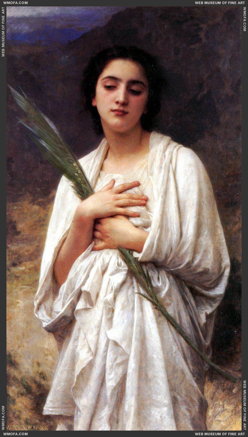 La palme - The Palm Leaf 1894 by Bouguereau, William