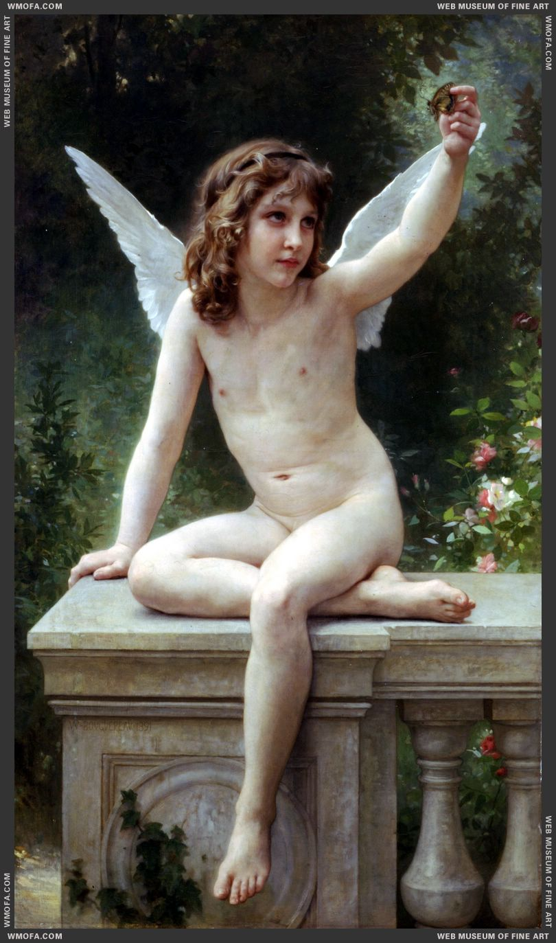 Le Captif - The Prisoner 1891 by Bouguereau, William
