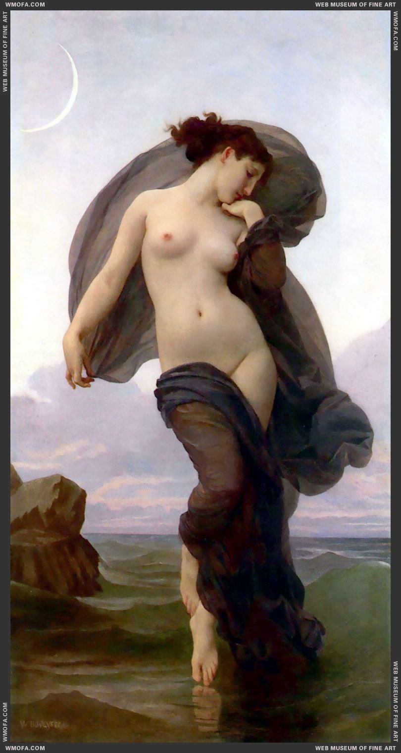 Le Crepuscule - Twilight 1882 by Bouguereau, William