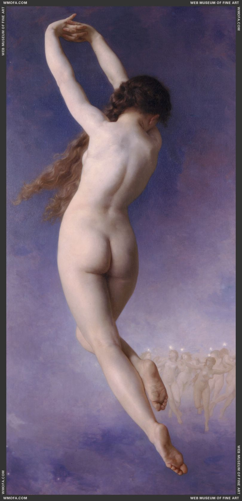 Le Etoile Perdue - The Lost Pleiad 1884 by Bouguereau, William