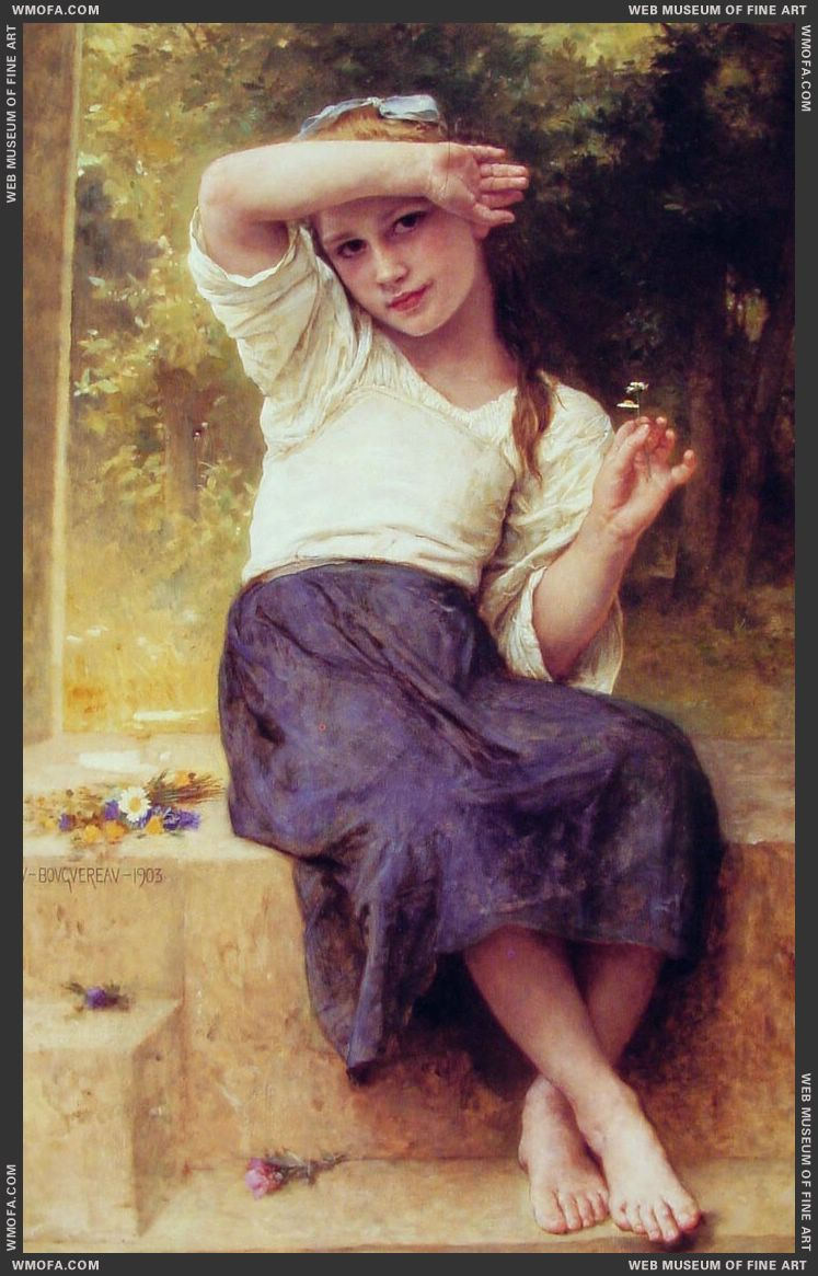 Marguerite 1903 by Bouguereau, William
