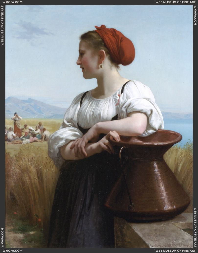 Moissonneuse - The Harvester 1868 by Bouguereau, William