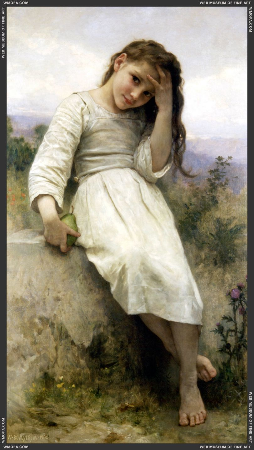 Petite Maraudeuse - Little Thieves 1900 by Bouguereau, William