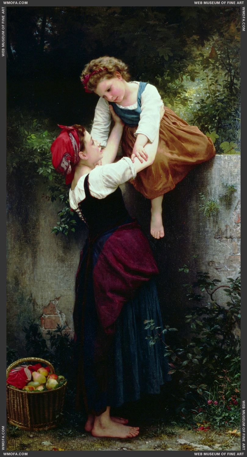Petites Maraudeuses - Little Thieves 1872 by Bouguereau, William