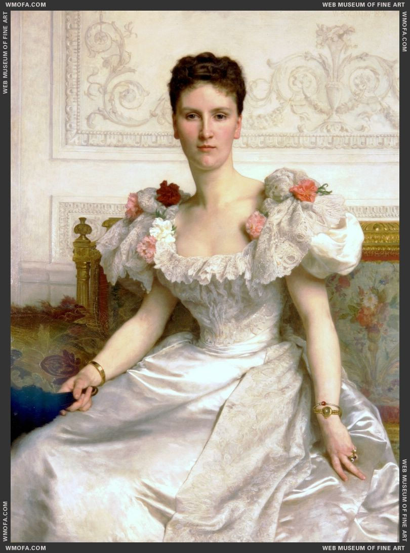 Portrait of Madam the Countess of Cambaceres 1895 by Bouguereau, William