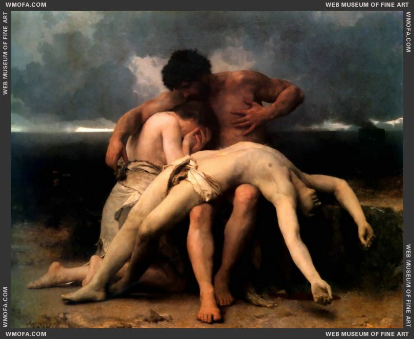Premier Deuil - The First Mourning 1888 by Bouguereau, William