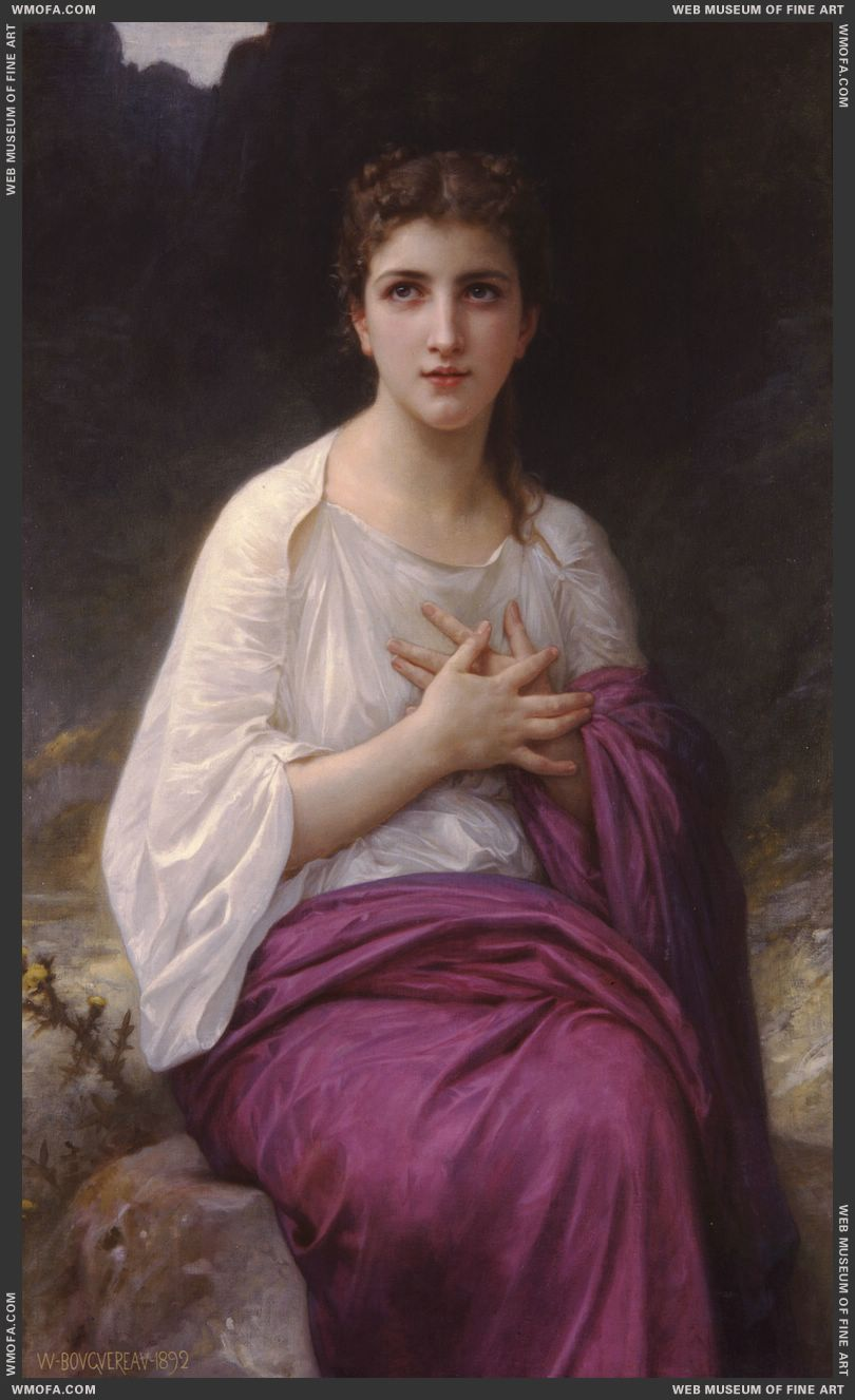 Psyche 1892 by Bouguereau, William