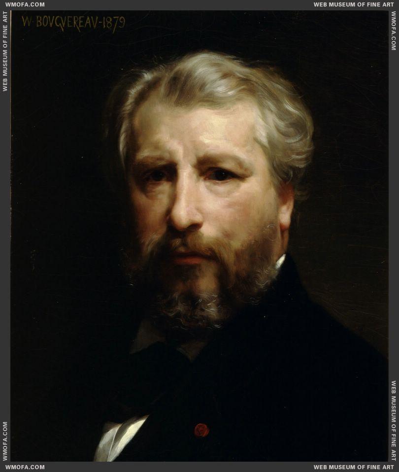 Self-Portrait 1879 by Bouguereau, William
