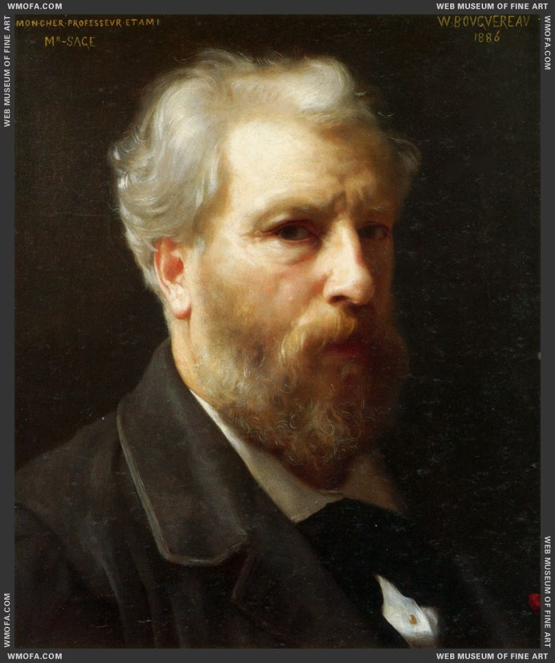 Self-Portrait 1886 by Bouguereau, William