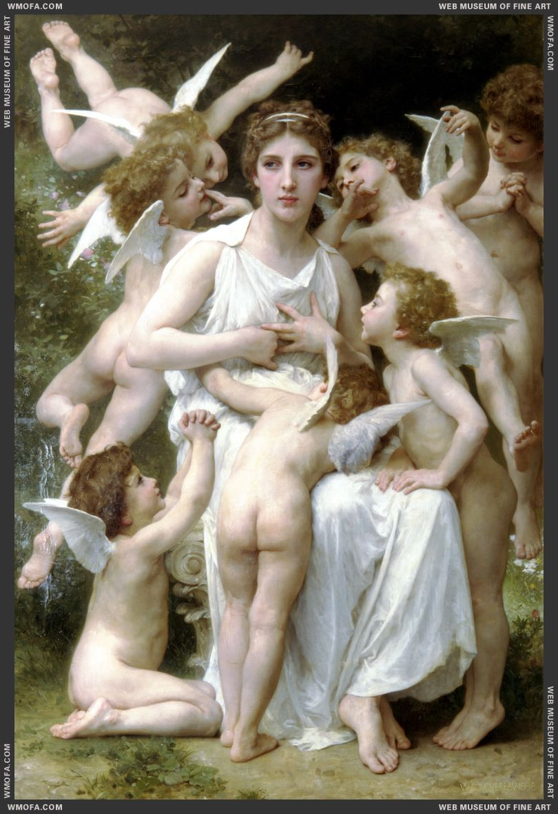 The Assault 1898 by Bouguereau, William