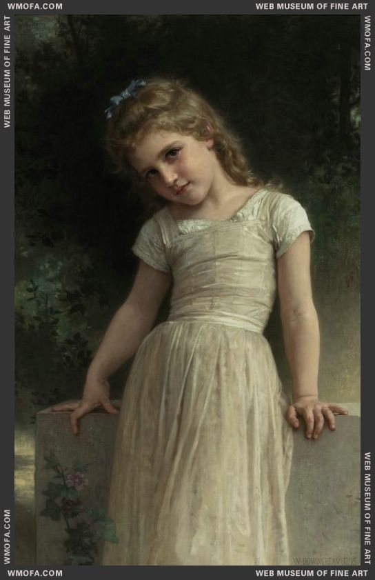 The Mischievous One 1895 by Bouguereau, William