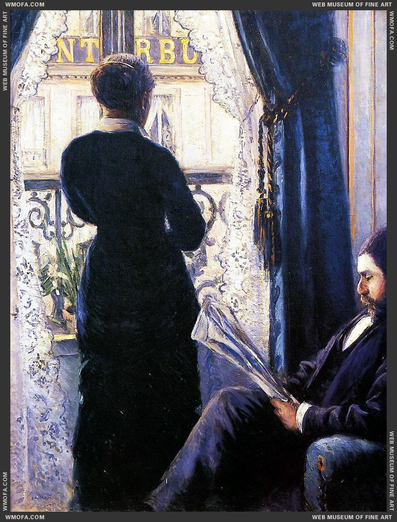 Interior 1880 by Caillebotte, Gustave