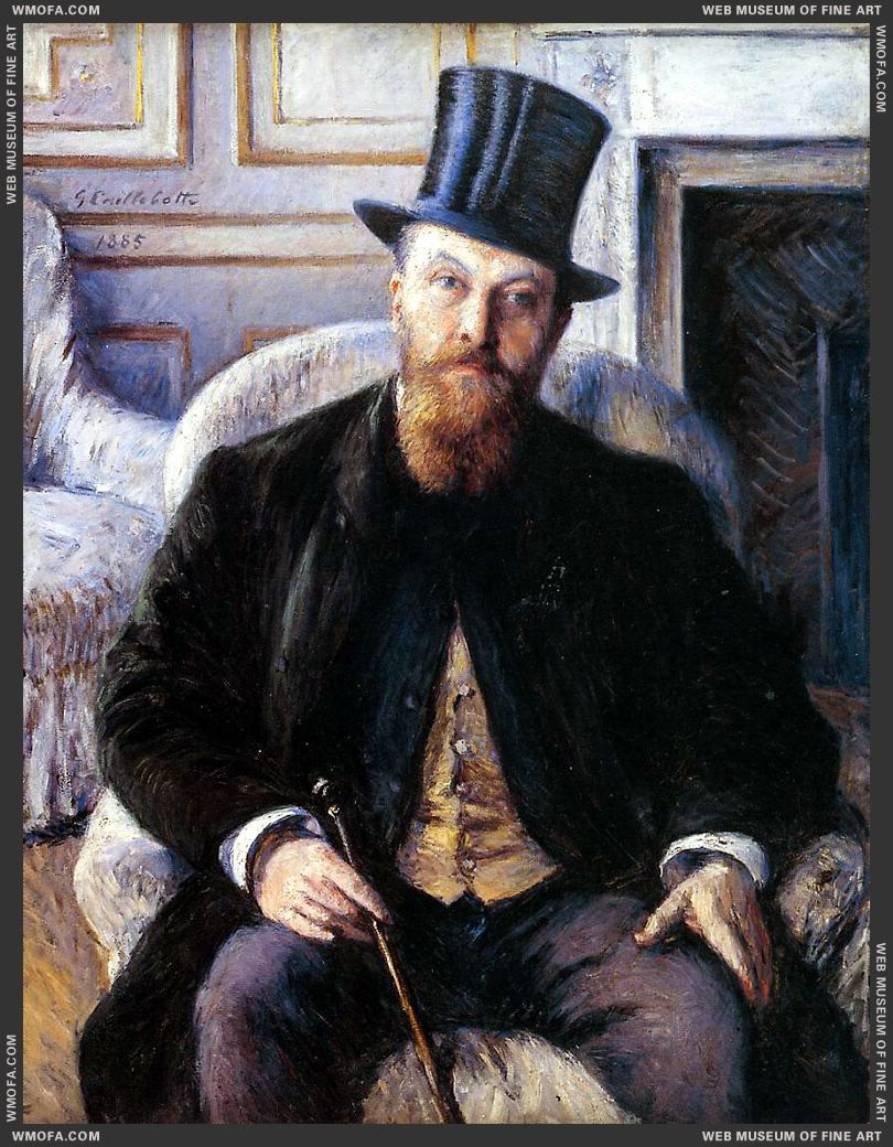 Portrait of Jules Dubois 1885 by Caillebotte, Gustave