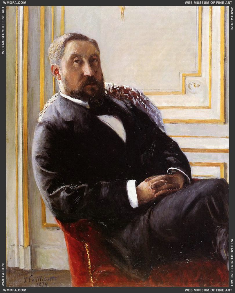 Portrait of Jules Richemont 1879 by Caillebotte, Gustave