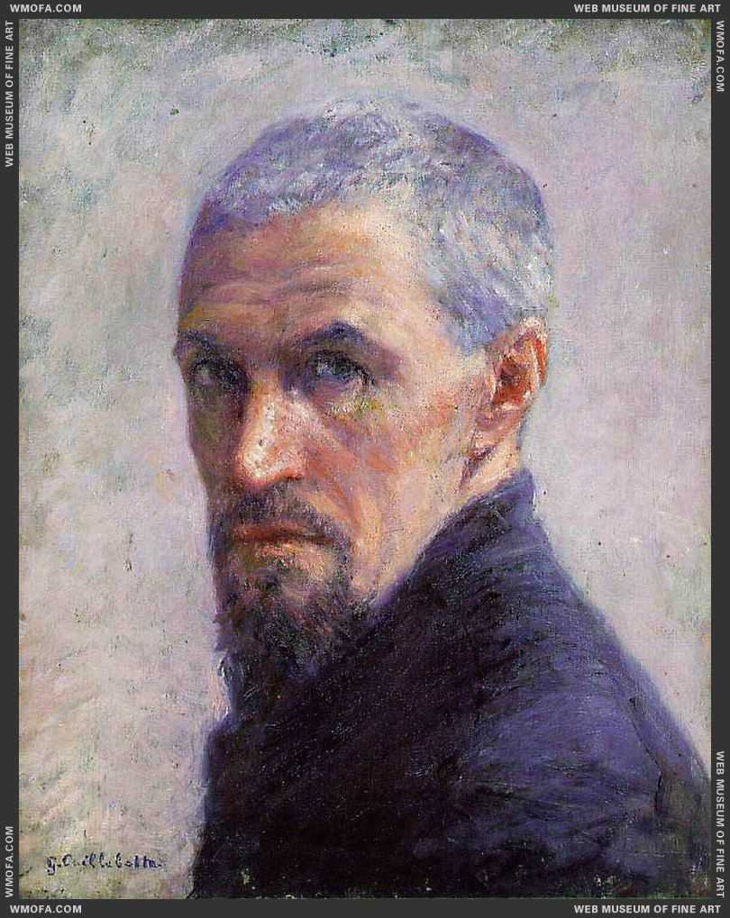 Self-Portrait c1892 by Caillebotte, Gustave