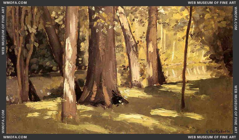 The Yerres Effect of Light c1871-1878 by Caillebotte, Gustave