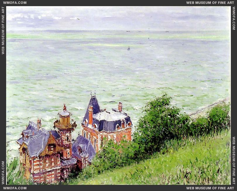 Villas at Trouville 1884 by Caillebotte, Gustave