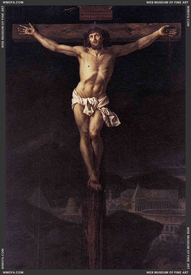 Christ on the Cross 1782 by David, Jacques-Louis