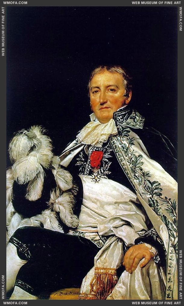 Count Francais de Nantes 1811 by David, Jacques-Louis