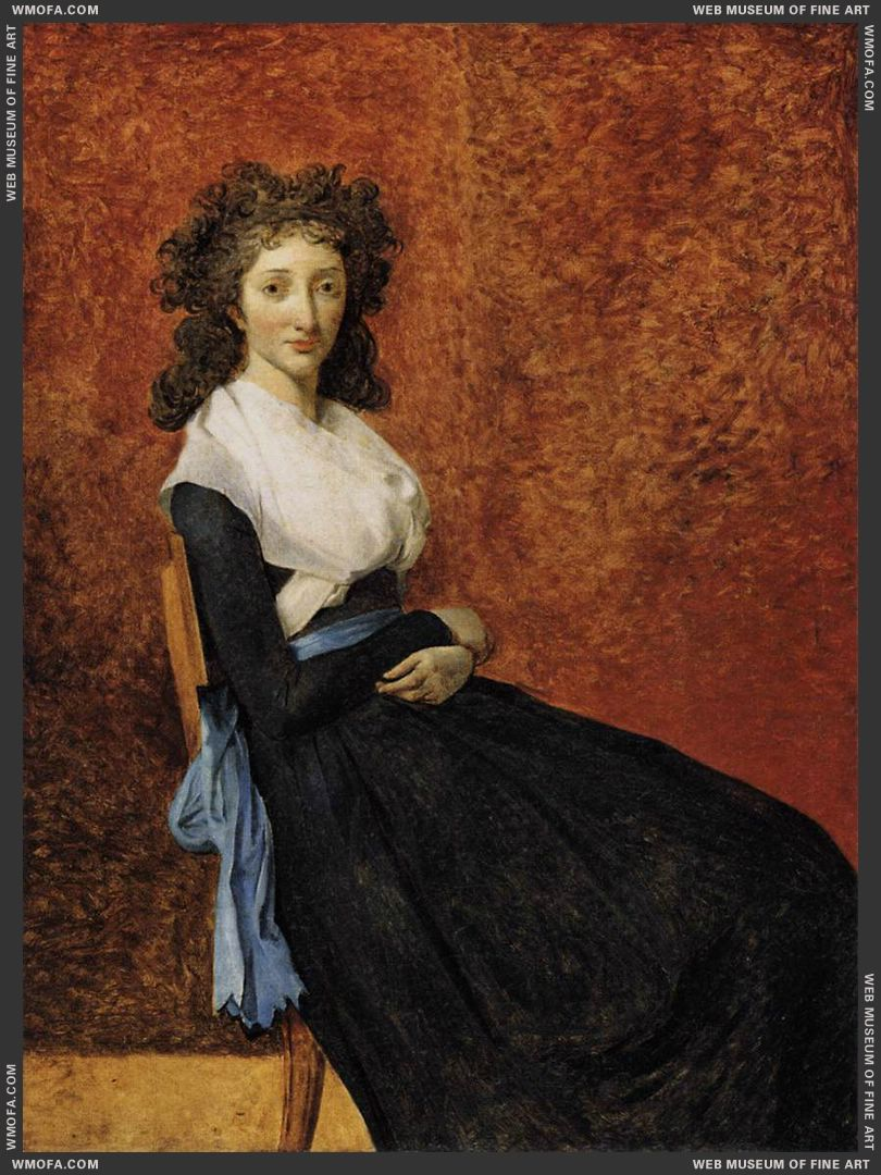 Madame Trudaine c1792 by David, Jacques-Louis