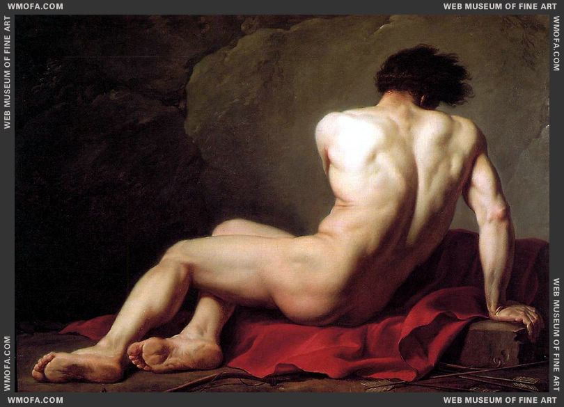 Patroclus 1780 by David, Jacques-Louis