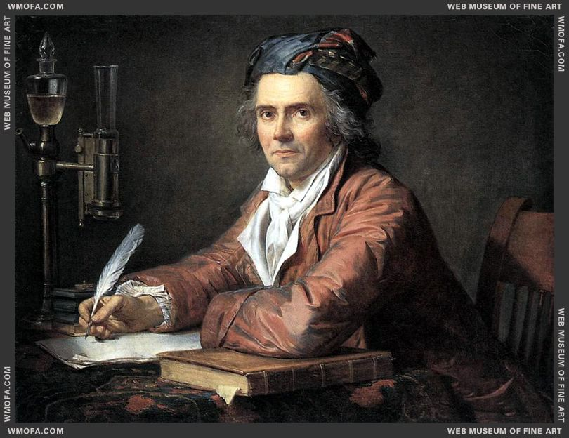 Portrait of Doctor Alphonse Leroy 1783 by David, Jacques-Louis