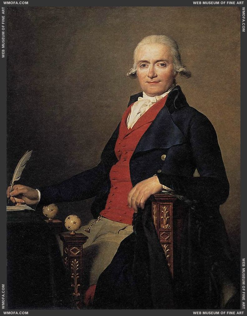 Portrait of Gaspar Mayer 1795 by David, Jacques-Louis