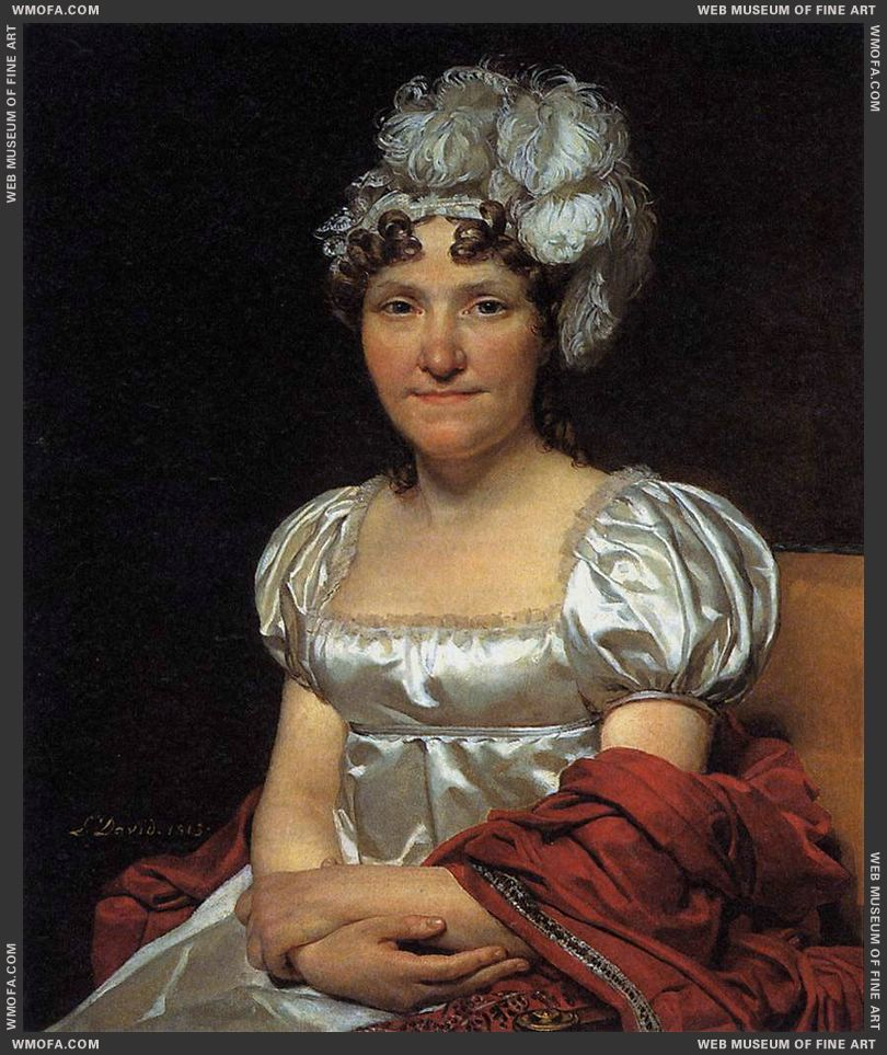 Portrait of Marguerite-Charlotte David 1813 by David, Jacques-Louis