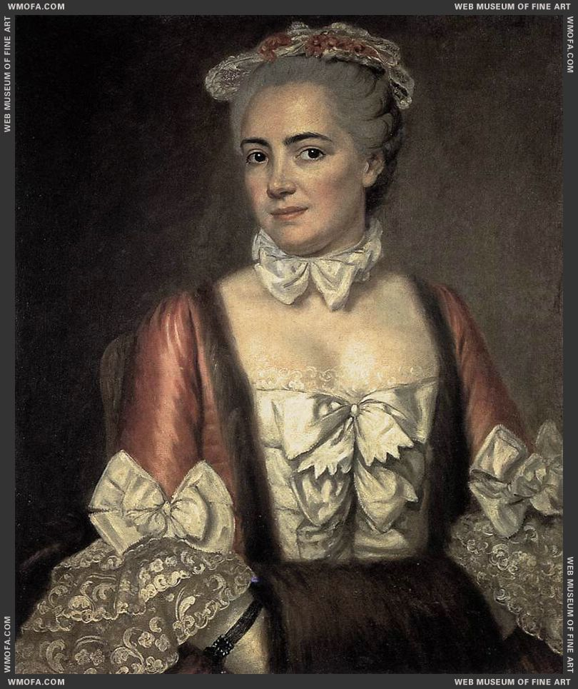 Portrait of Marie-Francoise Buron c1769 by David, Jacques-Louis