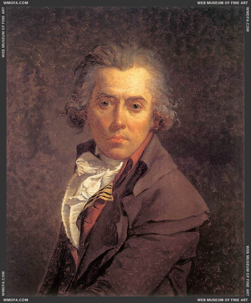 Self-Portrait 1791 by David, Jacques-Louis