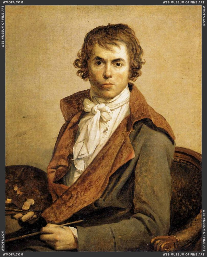 Self-Portrait 1794 by David, Jacques-Louis