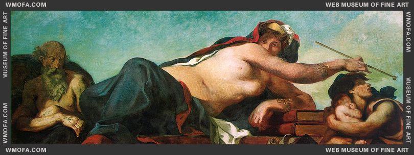 Justice 1833-1837 by Delacroix, Eugene