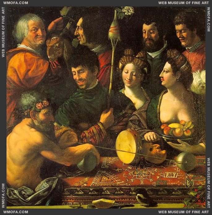 Witchcraft - Allegory of Hercules - c1535 by Dossi, Dosso