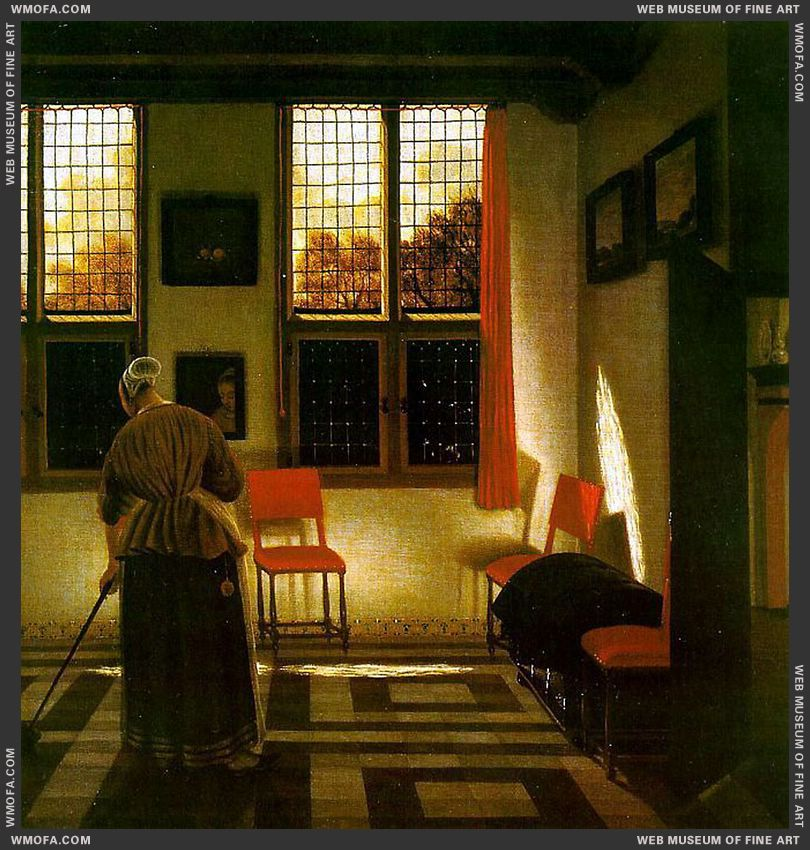 Room In a Dutch House by Elinga, Pieter Janssens