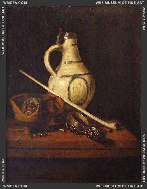 Still Life by Elinga, Pieter Janssens