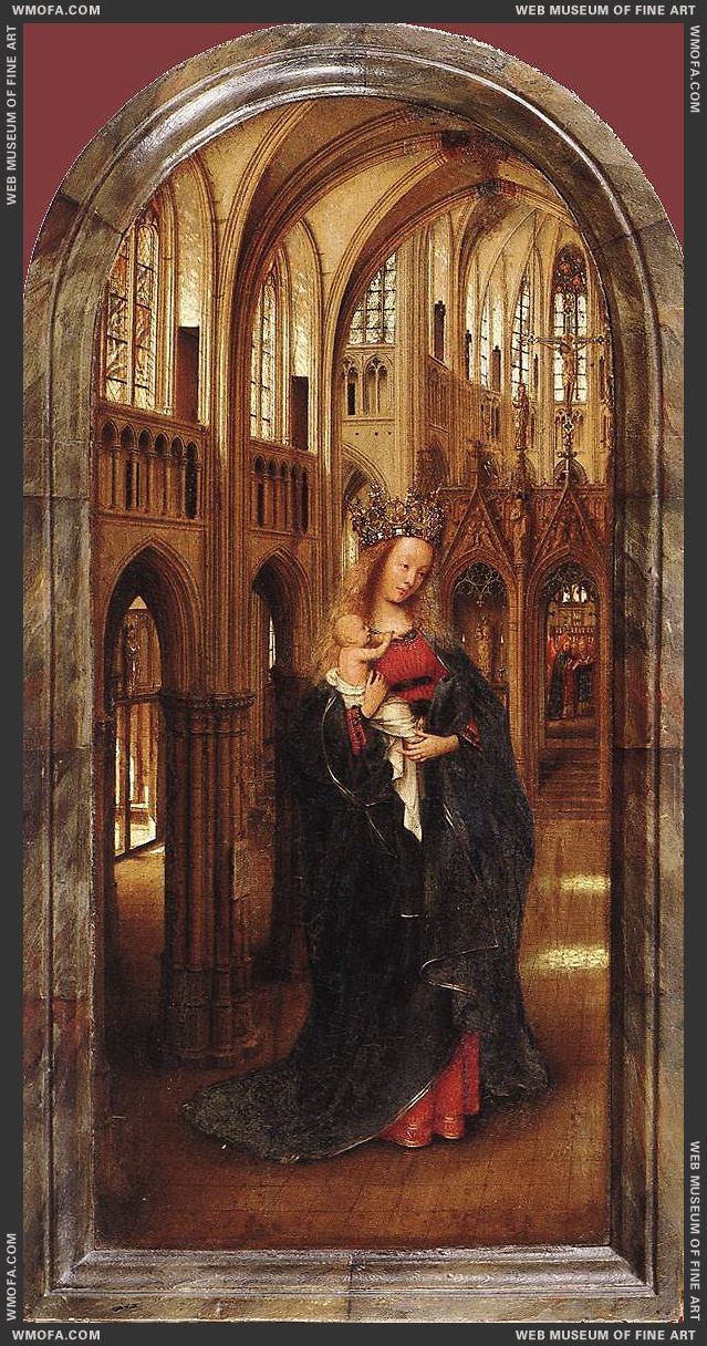 Madonna in the Church c1425 by Eyck, Jan van