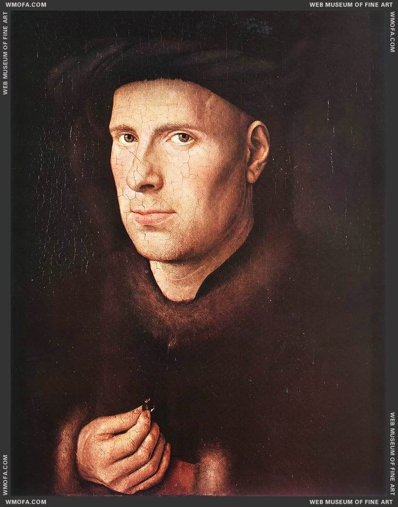 Portrait of Jan de Leeuw c1436 by Eyck, Jan van