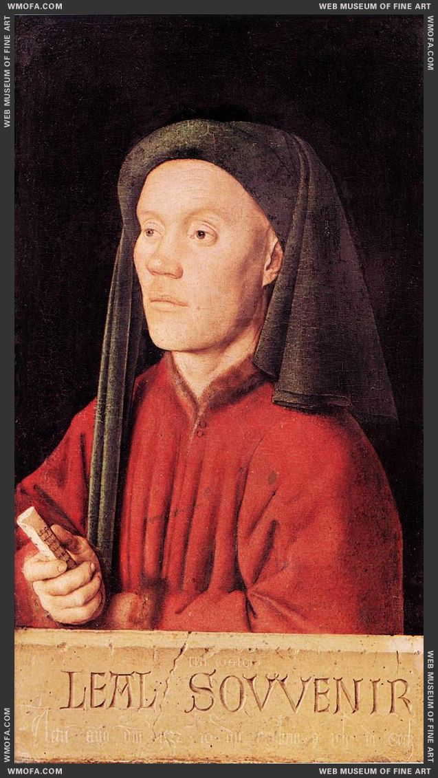 Portrait of a Young Man - Tymotheos - 1432 by Eyck, Jan van